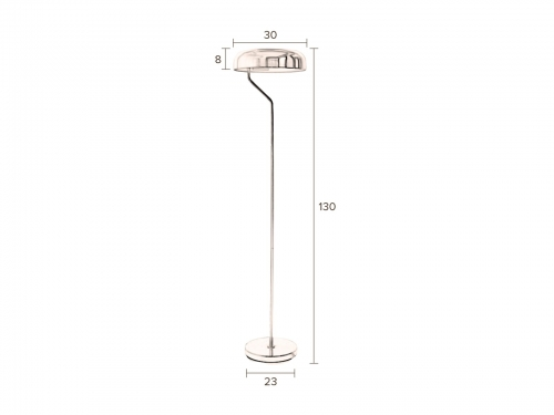Dutchbone ECLIPSE floor lamp