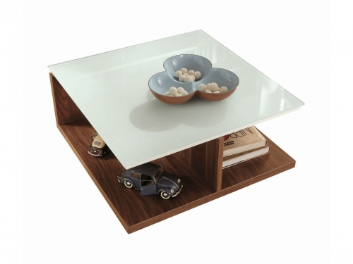 h lsta now time coffee table with glass tabletop innoshop. Black Bedroom Furniture Sets. Home Design Ideas