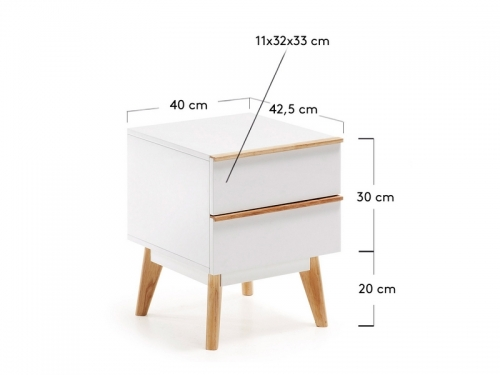 La Forma MEETY bedside table