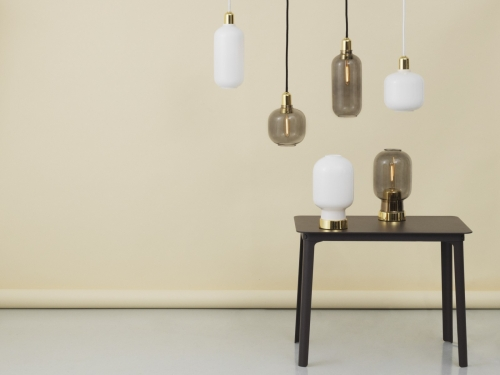 Normann Copenhagen AMP BRASS pendant lamp | large
