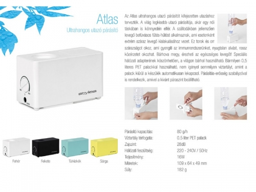 Stylies ATLAS travel humidifier