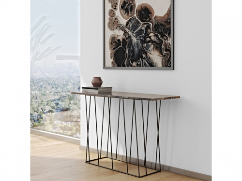 Temahome HELIX 120 console marble