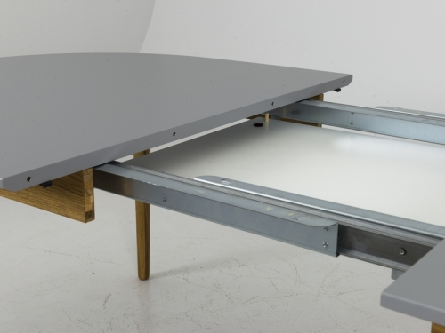Tenzo DOT extendable ellipse dining table