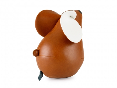 Züny BROWN MOUSE bookend
