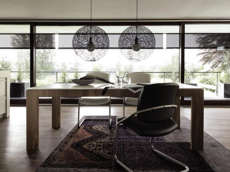 h lsta now 14 dining table 160x90 cm innoshop. Black Bedroom Furniture Sets. Home Design Ideas