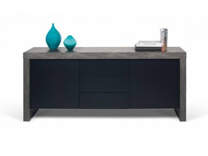 temahome kobe sideboard with drawers innoshop. Black Bedroom Furniture Sets. Home Design Ideas