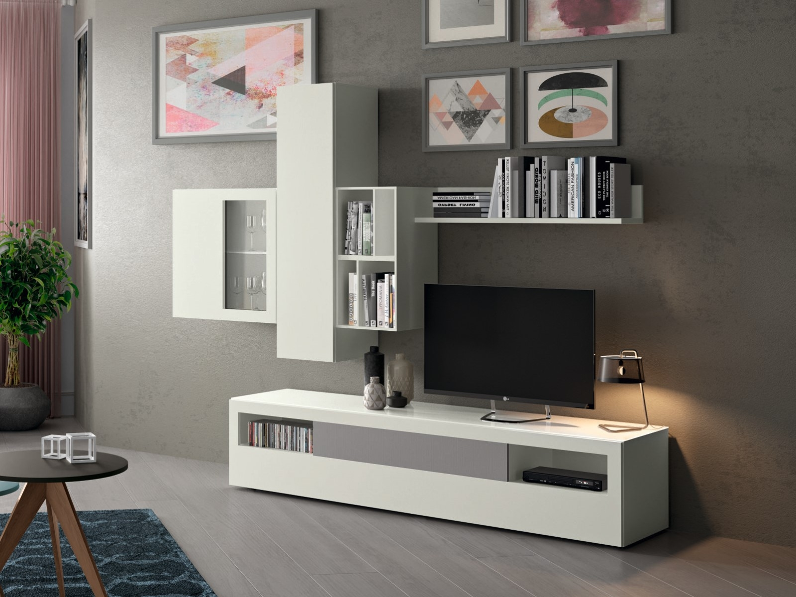 Hulsta Now 7 Tv Meubel.Hulsta Now Vision Living Room Combination 3 Innoshop