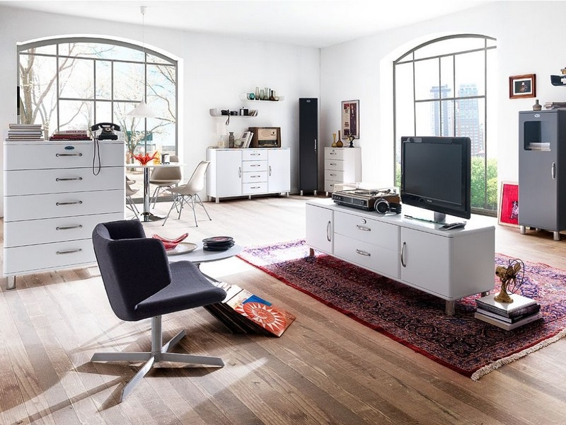 tenzo malibu sideboard innoshop. Black Bedroom Furniture Sets. Home Design Ideas