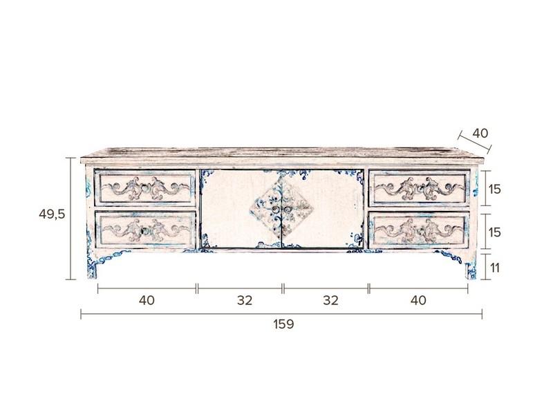 dutchbone fuz sideboard innoshop. Black Bedroom Furniture Sets. Home Design Ideas
