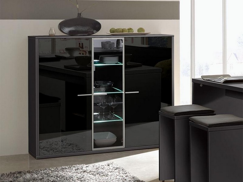 arte m game highboard 0300 cabinet innoshop. Black Bedroom Furniture Sets. Home Design Ideas