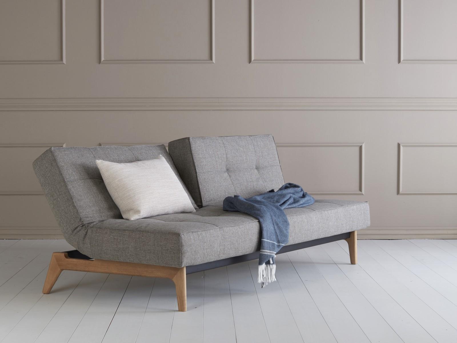 Innovation splitback wood sofa innoshop for Innovation sofa cover