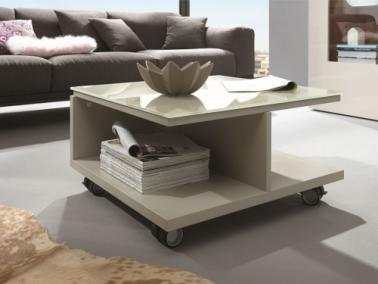 Hülsta NOW! TIME Coffee table with glass tabletop