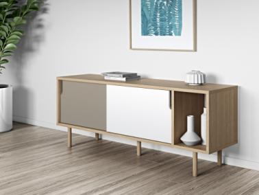 Temahome DANN 165 sideboard with wooden legs
