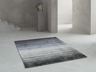 Linie Design COMBINATION dark blue rug