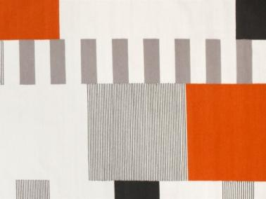 Linie Design GRAPHIC rug - orange