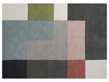 Linie Design TETRIS rug - powder