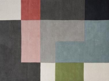 Linie Design TETRIS rug - powder showroom