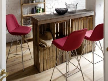 Tenzo GRACE PORGY fabric bar chair