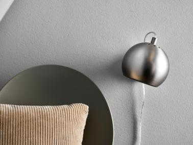 Frandsen BALL wall lamp | metallic