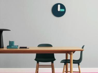 Normann Copenhagen BOLD wall clock