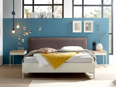 Hülsta Now! TIME bed | upholstered headboard