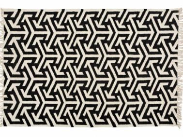 Furninova ARROWS black rug