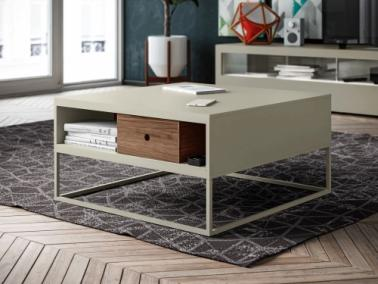Hülsta Now! CT20 coffee table | metal feet