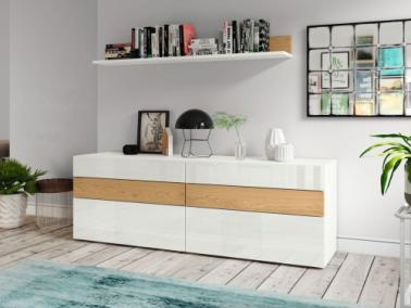 Hülsta NOW! VISION Sideboard with wall shelf