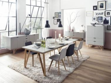Tenzo CROSS extendable dining table