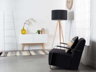 Zuiver TRIPOD WOOD floor lamp