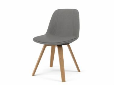 Tenzo GRACE ELLA leather textile chair
