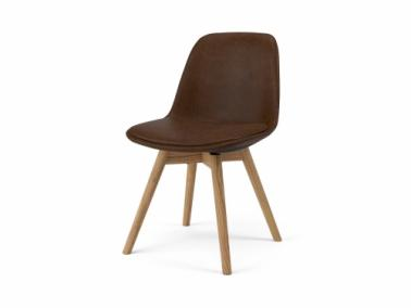 Tenzo GRACE SARA leather textile chair