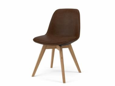 Tenzo GRACE BESS leather textile chair