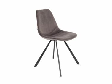 Dutchbone FRANKY velvet chair
