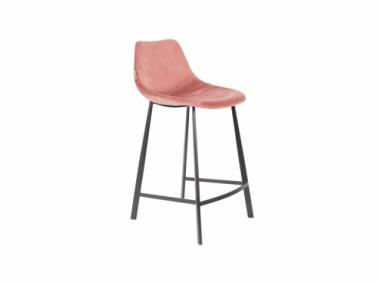 Dutchbone FRANKY velvet counter stool