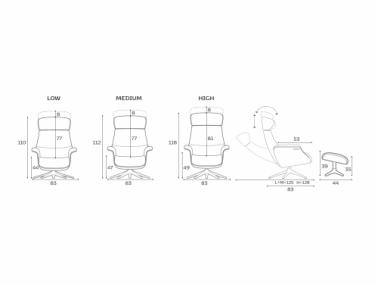 Flexlux EASE CLEMENT relax chair