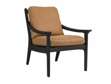 Furninova REVIR black armchair