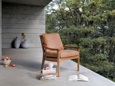 Furninova REVIR oak armchair