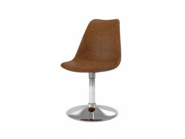 Tenzo GINA TRUMPET leather textile chair