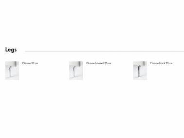 Furninova NOIR WOODEN sofa