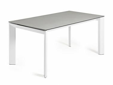 La Forma ATTA 140 extendable dining table | white leg