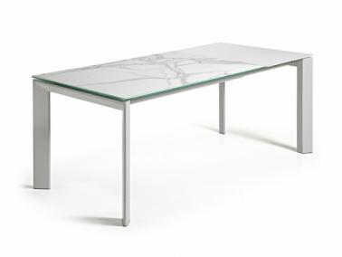 La Forma ATTA extendable dining table - grey leg