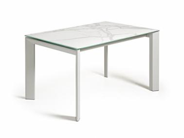 La Forma ATTA 140 extendable dining table | grey leg