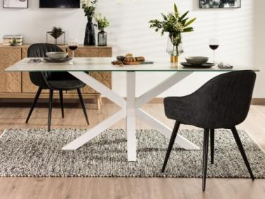 La Forma ARYA dining table - white leg