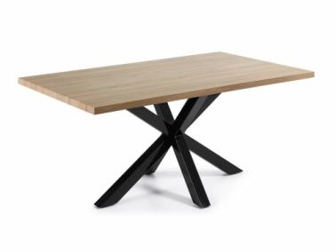 La Forma ARYA dining table - black leg