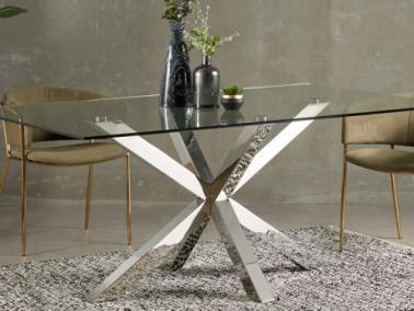 La Forma ARYA dining table - metal leg