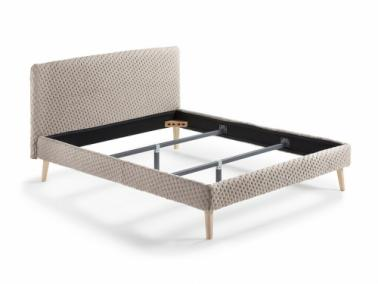 La Forma LYDIA quilted bed frame