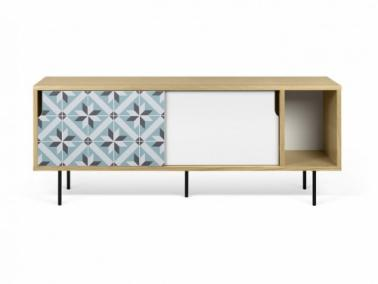 Temahome DANN TILES 165 sideboard with metalic legs