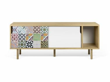 Temahome DANN TILES 165 sideboard with wooden legs