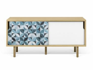Temahome DANN TILES 135 sideboard with wooden legs